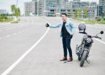 odpalanie motocykla na pych